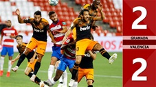 Granada 2-2 Valencia (Vòng 34 La Liga 2019/20)