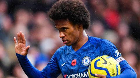Chelsea và Willian sẽ tiếp tục đàm phán