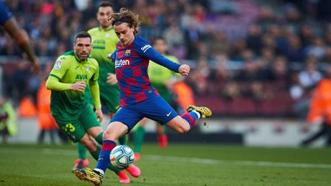 Giá trị cầu thủ Pháp tại 4 giải VĐQG hàng đầu: Barca và Griezmann là số 1