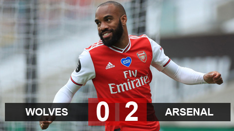 Wolves 0-2 Arsenal: Nối lại giấc mơ dự Europa League
