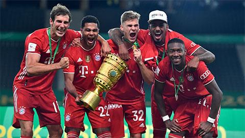 Thấy gì từ chiến thắng giúp Bayern thâu tóm cú đúp giải quốc nội mùa này?