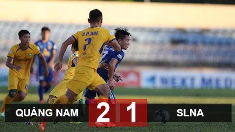 Quảng Nam 2-1 SLNA: Trận thắng gây tranh cãi của Quảng Nam