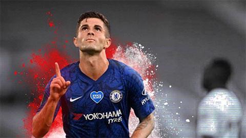 Lampard kỳ vọng Pulisic đạt tới đẳng cấp Hazard