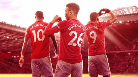 Rashford - Martial - Greenwood vượt tam tấu FMS của Liverpool