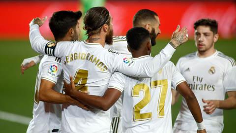Real thắng theo phong cách Italia, ngôi Vương La Liga sắp đổi chủ
