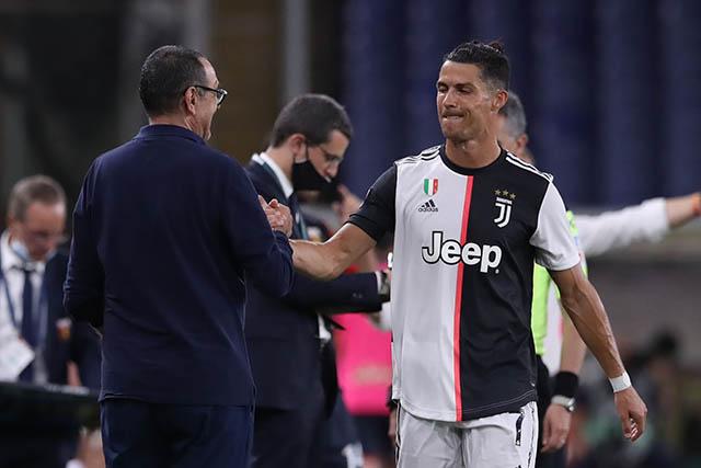 Mối quan hệ giữa Sarri và Ronaldo vẫn rất ổn?