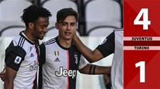 Juventus 4-1 Torino (Vòng 30 Serie A 2019/20)