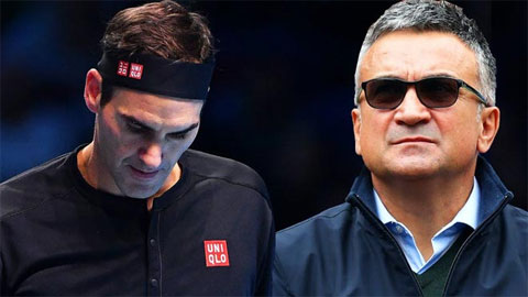 """Federer đón tin vui, hai bố con Djokovic bị """"ném đá"""""""
