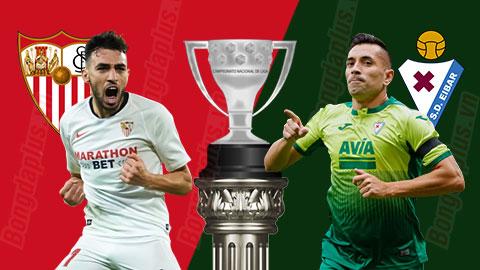 Nhận định bóng đá Sevilla vs Eibar, 03h00 ngày 7/7: Đòi món nợ lượt đi