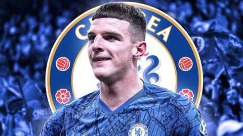 Declan Rice: Trở lại Chelsea để kế vị Terry?