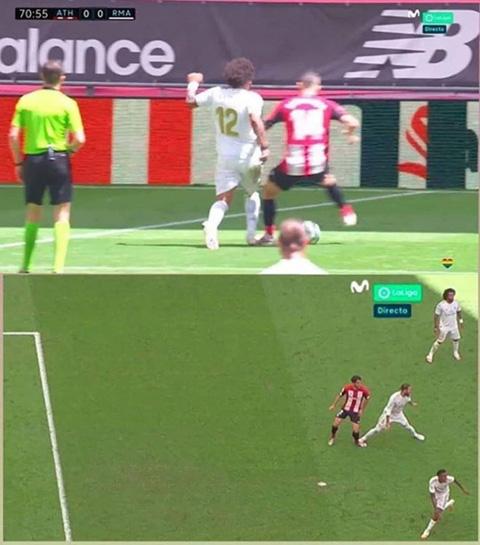 Hai tình huống gây tranh cãi trong trận thắng Bilbao của Real