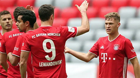 """5 lý do Bayern sẽ vô địch Champions League, hoàn tất cú """"ăn ba"""""""