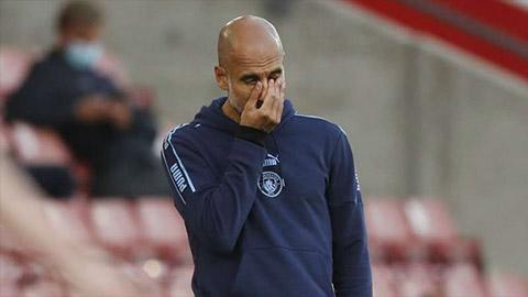 HLV Guardiola lập kỷ lục buồn sau trận Man City thua sốc Southampton