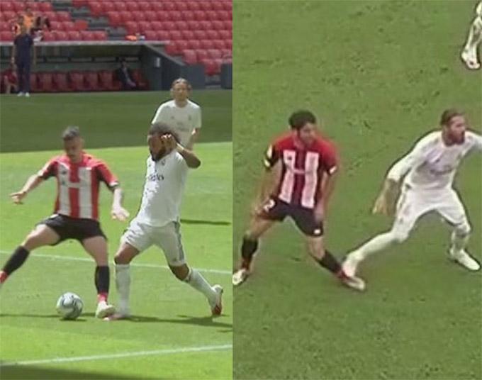 2 tình huống gây tranh cãi ở trận Real thắng Bilbao
