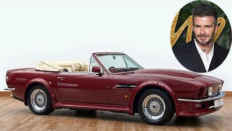 David Beckham rao bán Aston Martin V8 Volante đời siêu cổ với giá sốc