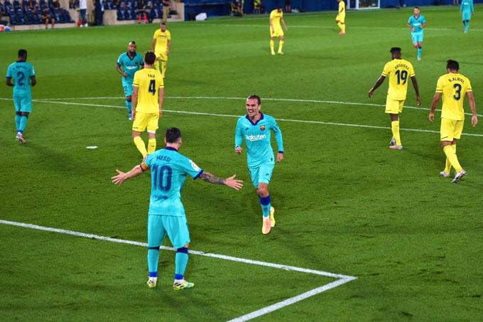 Griezmann và Messi đã tìm thấy nhau