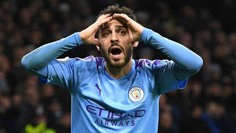 Bernardo Silva: 'Man City quá thảm hại trên sân khách'