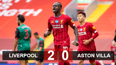 Liverpool 2-0 Aston Villa: Mane và Jones giúp Liverpool thắng trận đầu tiên trên tư cách nhà vô địch Premier League