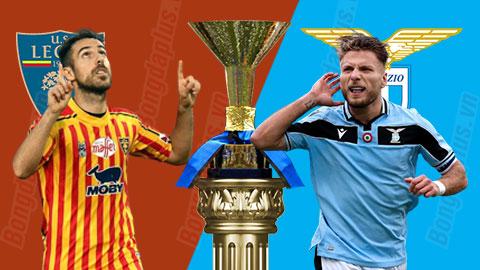 Nhận định bóng đá Lecce vs Lazio, 00h30 ngày 8/7: Đứng dậy sau cú vấp