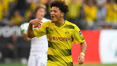 Dortmund ra tối hậu thư cho M.U vụ Sancho