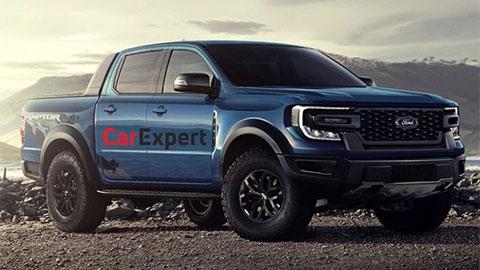 Ford Ranger Raptor siêu hầm hố với động cơ V6 sắp ra mắt, đè Mitsubishi Triton, Mazda BT-50