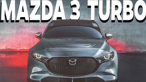 Mazda 3 Turbo 2021 thiết kế siêu đẹp mạnh hơn Honda Civic, giá chỉ 500 triệu đồng