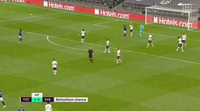 Thủ thành đội trưởng của Spurs hét về phía Son