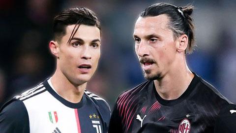 Đại chiến Milan vs Juventus: Màn thư hùng cuối của Ibrahimovic và Ronaldo?