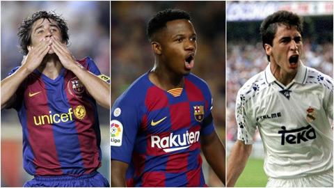 Thần đồng Ansu Fati nhăm nhe phá kỷ lục ghi bàn tại La Liga