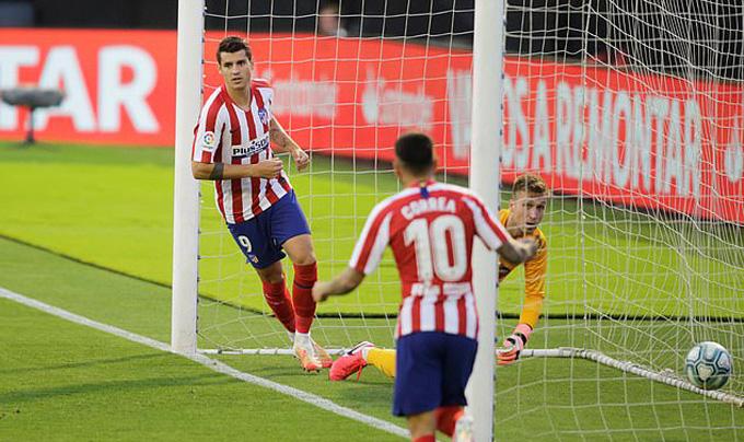 Morata mở tỷ số giây thứ 51