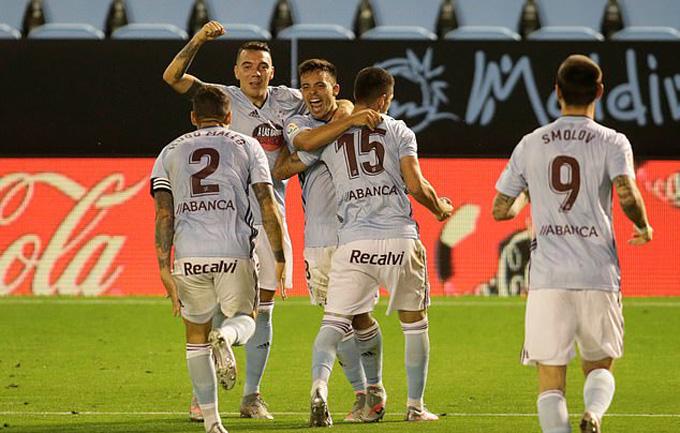 Siêu phẩm của Beltran mang về 1 điểm cho Celta Vigo