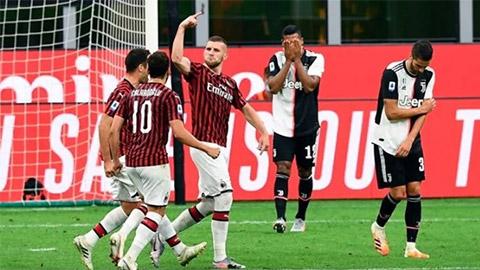 Bất lực trước Ronaldo, Milan vẫn làm được điều không tưởng trước Juventus