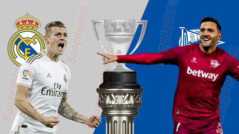 Nhận định bóng đá Real Madrid vs Alaves, 3h00 ngày 11/7: Lao đến vạch đích