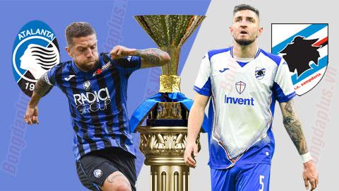 Nhận định bóng đá Atalanta vs Sampdoria, 02h45 ngày 9/7: Tấn công ngôi nhì bảng