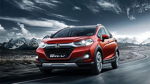 Honda WR-V 2020 đẹp long lanh, giá hơn 200 triệu đồng 'đe' Hyundai Kona, Ford EcoSport