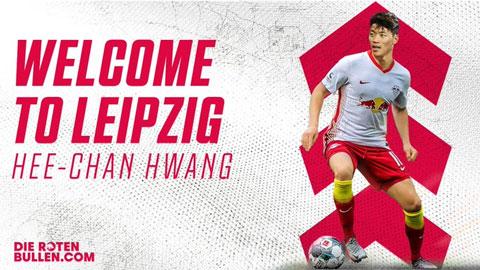 RB Leipzig chiêu mộ Hwang Hee Chan từ Red Bull Salzburg