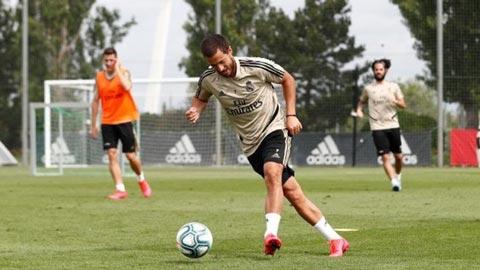 Hazard chạy đua với thời gian để ra sân, Real tự tin cắt đuôi Barca