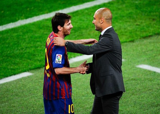 Pep và Messi từng có giai đoạn vô cùng thành công với nhau