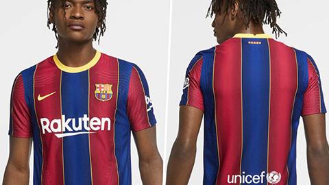Trang phục Barcelona mùa tới copy mẫu áo của... Crystal Palace?