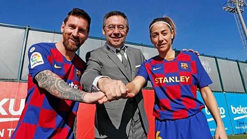 Chủ tịch Bartomeu nói gì về phần đời còn lại của Messi ở Barca?
