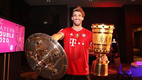 Javi Martinez gắn liền với thời kỳ vàng son của Bayern với 8 lần liên tiếp đăng quang ở Bundesliga