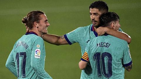 Messi không ghi bàn lại mang hạnh phúc cho Barca