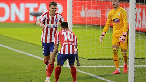 Atletico: Đến lượt Morata sắm vai chính