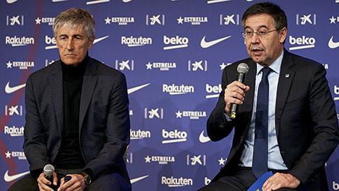Barca sẽ giữ HLV Setien đến...  kỳ bầu cử chủ tịch