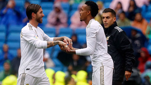 Militao sẵn sàng thay Ramos khi Champions League trở lại