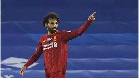 Salah gia nhập CLB 100 của Liverpool