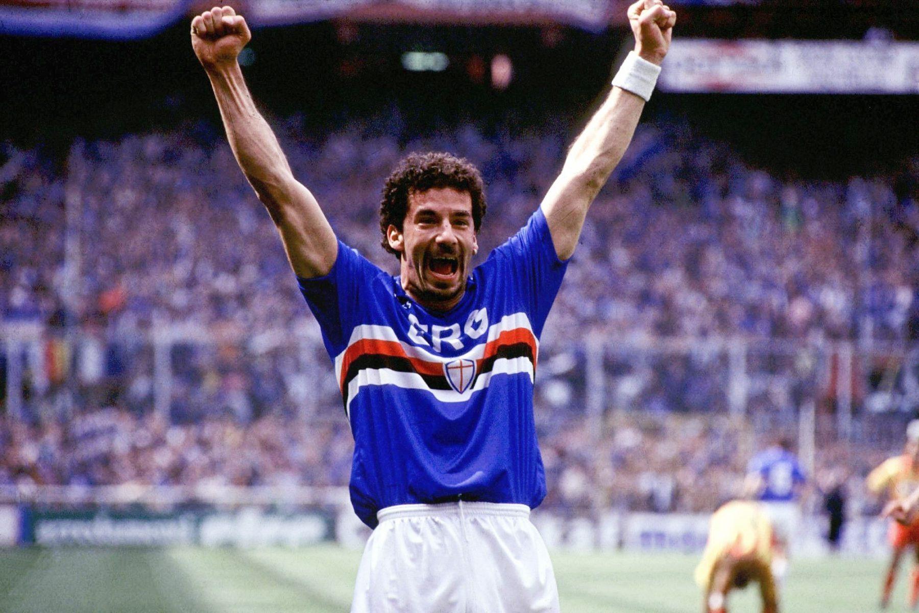 Vialli, con trai của tỉ phú, đã giúp Sampdoria vô đich Serie A lần duy nhất trong lịch sử