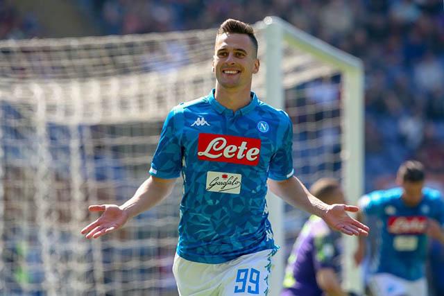 Milik sẽ chọn CLB nào rời Napoli?