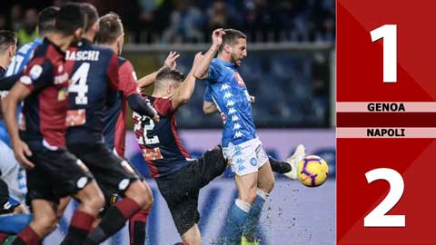 Genoa 1-2 Napoli (Vòng 31 Serie A 2019/20)