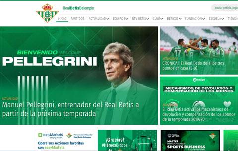 Trang chủ của Betis vừa thông báo, Pellegrini sẽ chính thức dẫn dắt CLB với hợp đồng 3 năm